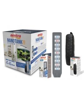 AQUARIUM NANOTANK CUBO SYSTEM 20 LED AMTRA
