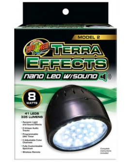 TERRA EFFECTS nano Led w/Sound  8W   ZOOMED